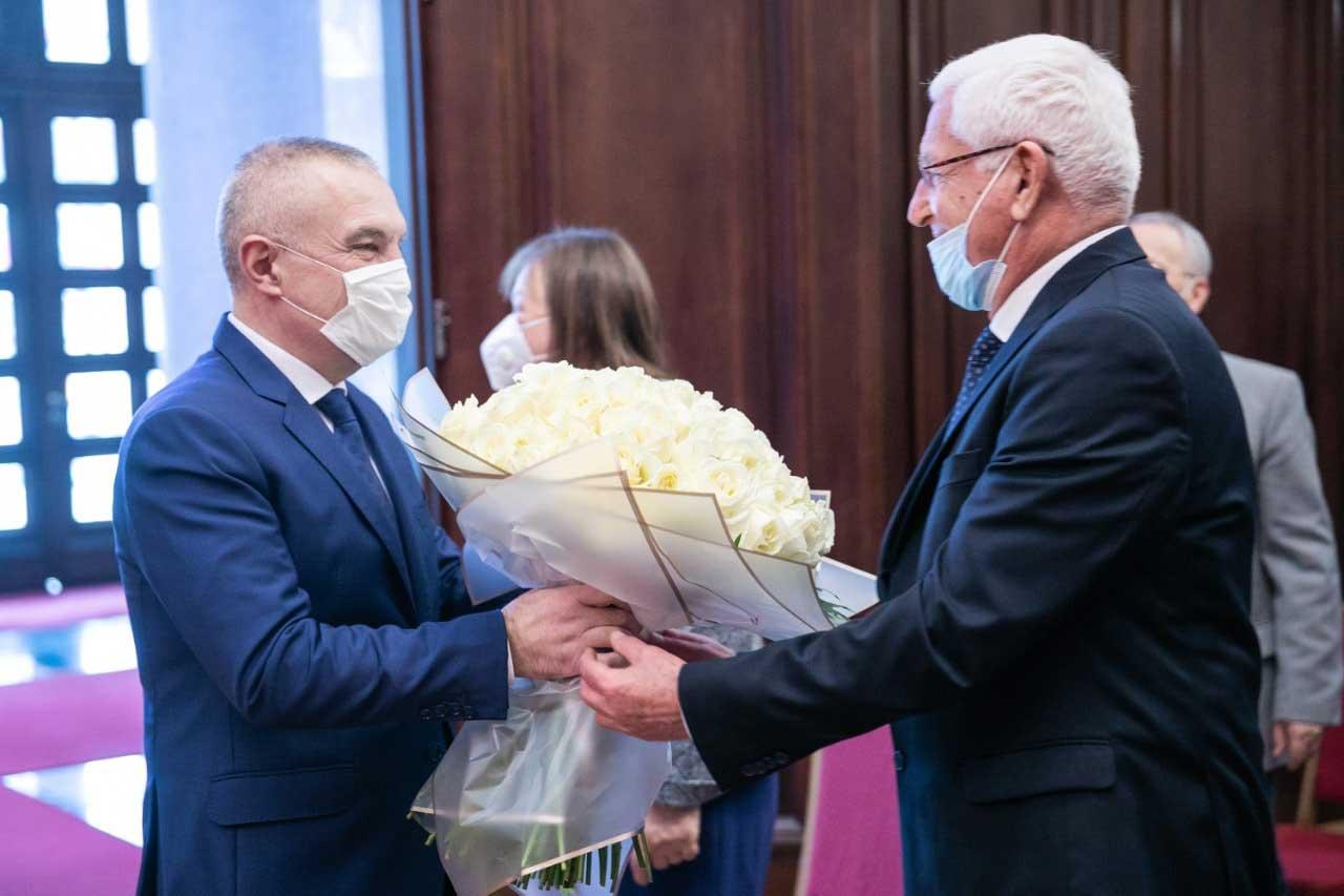 Ambasador Neritan Ceka - SHTZ Ilir META